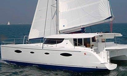 Charter 48' Salina Cruising Catamaran in Corfu, Greece