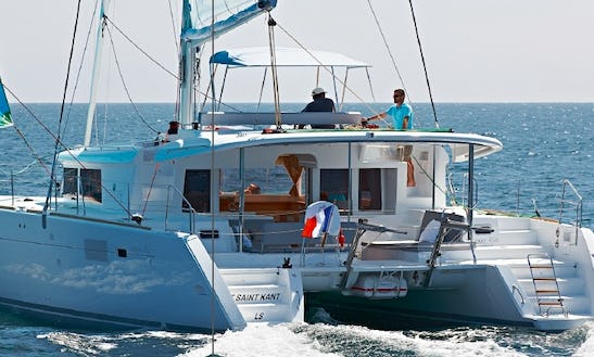 Charter 45' Lagoon Cruising Catamaran In Corfu, Greece