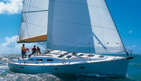 Charter 39' Beneteau Oceanis Cruising Monohull In Corfu, Greece