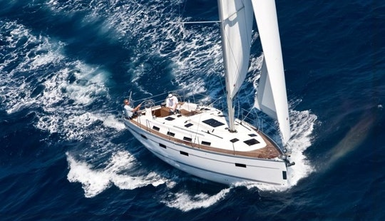Charter 40' Bavaria Cruising Monohull In Corfu, Greece