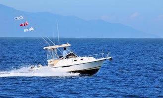 Shamrock 26 fishing charter in Nuevo Vallarta, Mexico