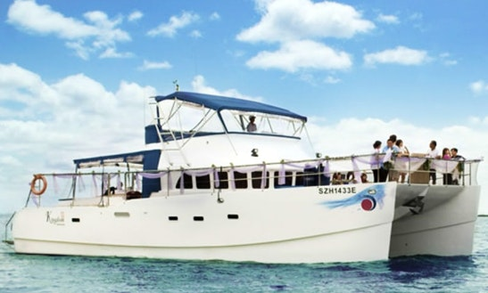 Charter A 53' Power Catamaran In Singapore