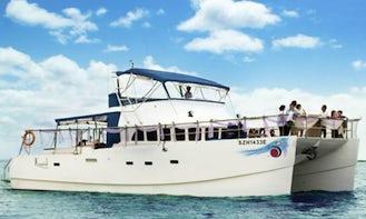 Charter a 53' Power Catamaran in Singapore