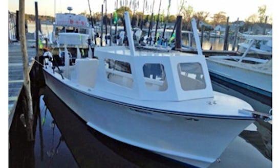 46ft Sportfisherman Boat Charter In Deale, Maryland