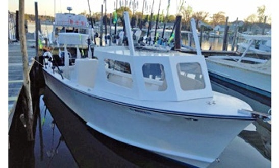 46ft Sportfisherman Boat Charter In Deale, Maryland