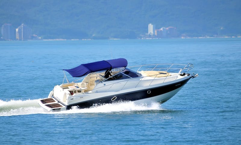 34ft Cranchi Zaffiro Motor Cruiser rental in Puerto Vallarta