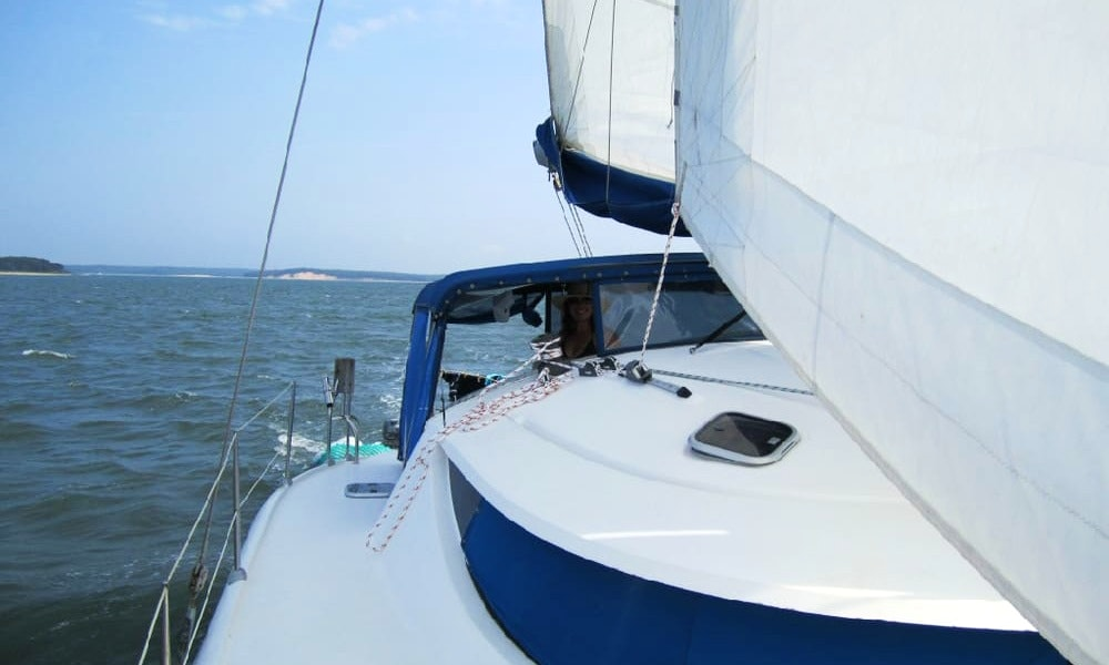 Crewed Catamaran in Exuma, Bahamas