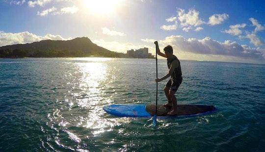 Stand Up Paddleboarding And Rental In Waikiki, Hawaii