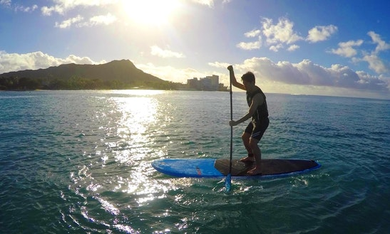 Stand Up Paddleboarding And Rental In Waikiki, Hawaii