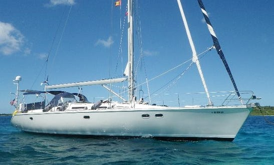 Charter 51' Cruising Monohull In Caribbean Islands, New Jersey
