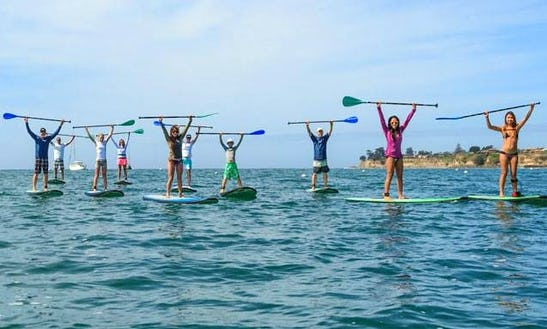 Enjoy Stand Up Paddleboard Hire & Lessons In Brighton,england