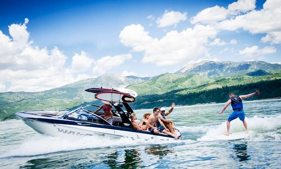 Wake Surf Charter In Jackson, Wyoming