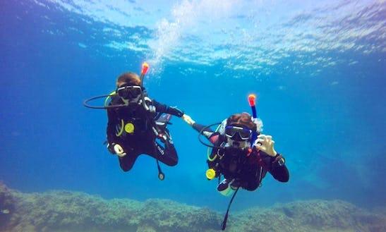Experience Scuba Diving In Torrenova, Spain