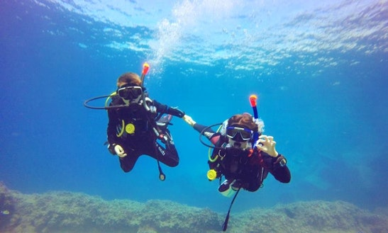 Experience Scuba Diving In Torrenova, Spain