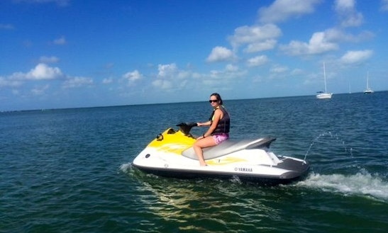 Yamaha Jet Ski Rental In Key Largo, Florida