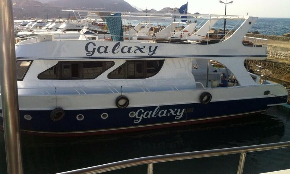 Charter Galaxy Passenger Boat in Suez Governorate, Egypt