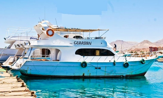 Charter Guardian Passenger Boat In Suez Governorate, Egypt