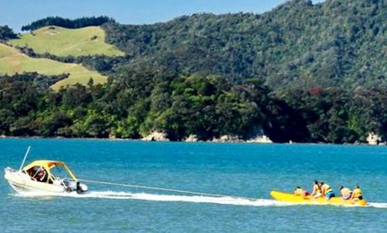 Enjoy Banana Boat Rides In Whitianga, New Zealand