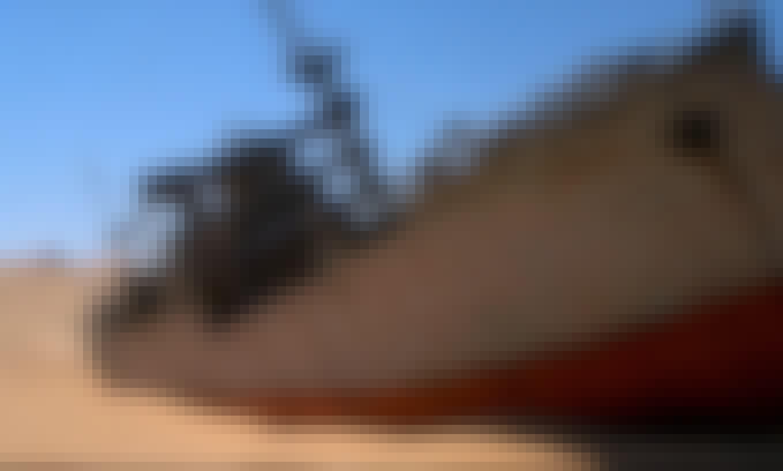 Dummy boat in Timbuktu