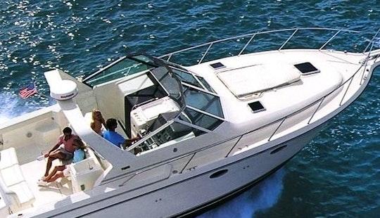 Captained Charter 36' Motor Yacht In Chicago, Burnham Harbor