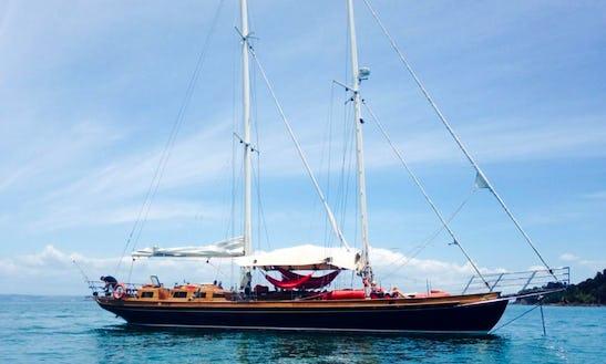 Charter 70' Schooner In Auckland, New Zealand