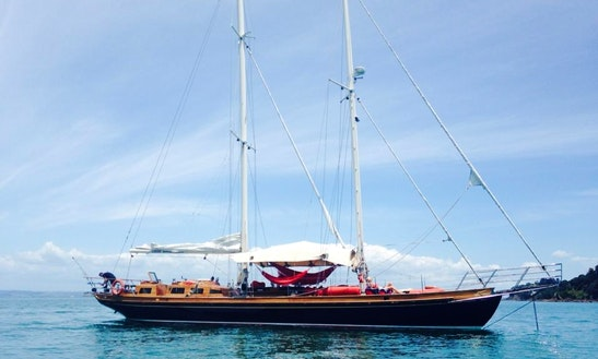 Charter 70' Schooner In Auckland, New Zealand