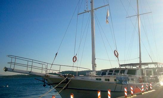 Charter 82' Prvi Odisej Gulet In Zadar, Croatia