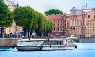 "Canal Boat ""Talisman"" River Cruises in Saint-Peterburg"