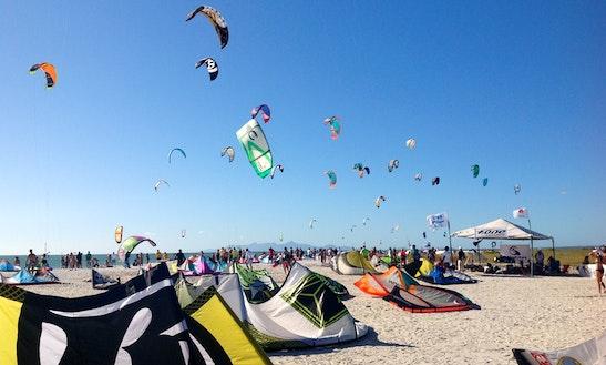 Enjoy Kitesurfing In El Yaque, Venezuela
