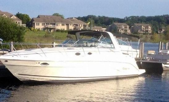 Rent The Rinker Fiesta Vee 342 Power Yacht In Florida