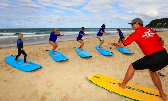Surfing Lessons Queensland Australia Getmyboat