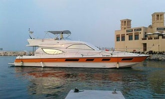 Experience the VIP lifestyle on this private yacht in Dubai, UAE