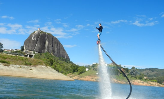 Flyboarding In Antioquia