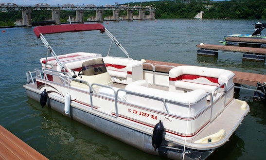 Enjoy Lake Austin On The G3 Pontoon In Austin, Texas