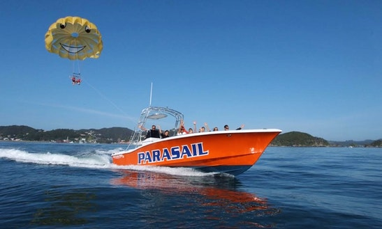 Enjoy Parasailing In Paihia, Northland