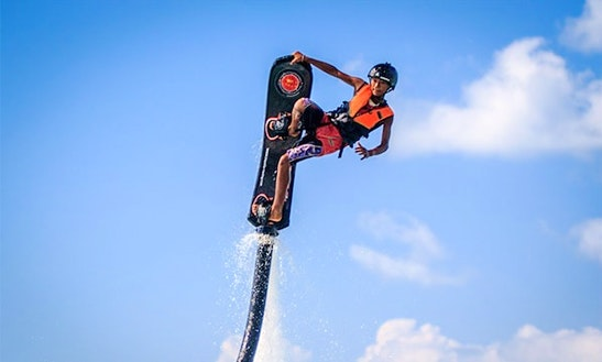 Enjoy Hover Boarding In Ko Samui, Chang Wat Surat Thani