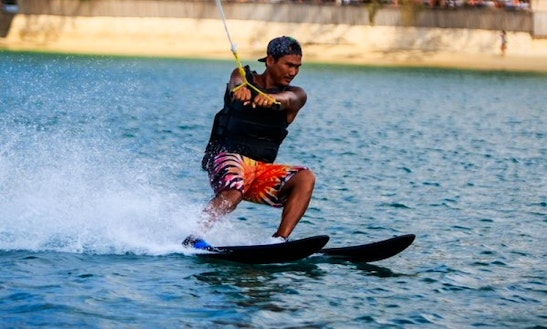 Enjoy Water Skiing In Ko Samui, Chang Wat Surat Thani
