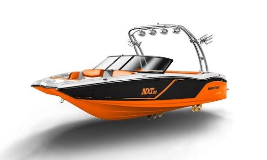 Powerboat Mastercraft Nxt 22 Bowrider Wakeboard Wakesurf Rental In Zürich Switzerland