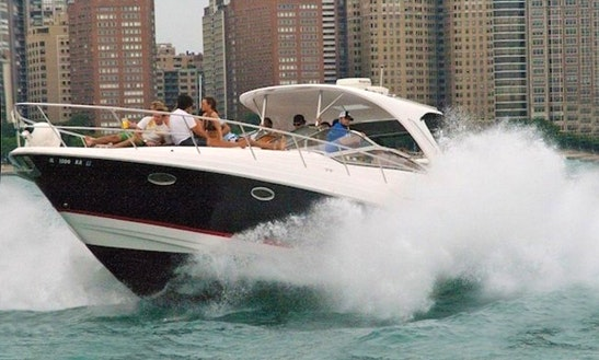 Charter 40' Cabin Cruiser Motor Yacht In Chicago, Illinois
