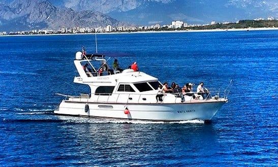 Enjoy Fishing In Antalya, Turkey 42' Motor Yacht