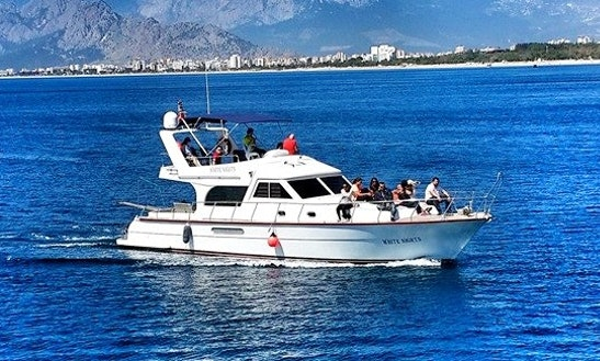 Enjoy Fishing In Antalya, Turkey 42' Motor Yacht