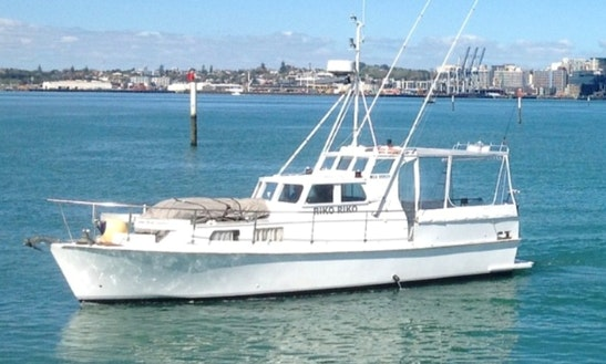 Enjoy Fishing In Auckland, New Zealand On 11m Game Fisher