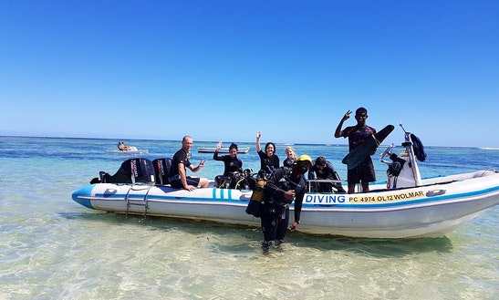 Enjoy Diving Trips And Courses In Flic En Flac, Mauritius