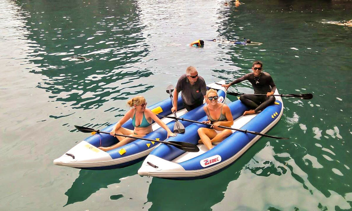 Enjoy Kayak Tours in Ko Lanta Yai, Thailand