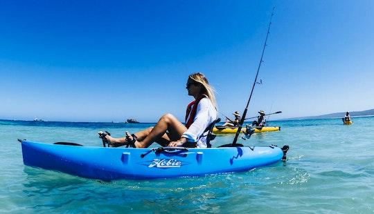 Guided Kayak Fishing Tour In Margaret River And Dunsborough