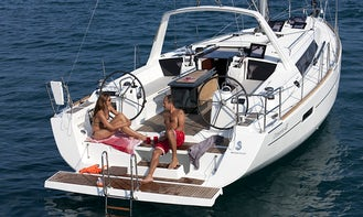 This Beneteau 38.1 is a Sailor's and Entertainer's Delight