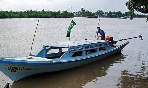 Enjoy Delta Day Trip in Yangon, Myanmar on 16 ft Boat