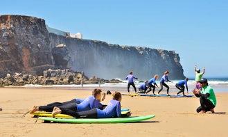 Surf Lessons in Sagres, Portugal