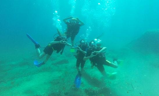 Scuba Diving In Sliema, Malta