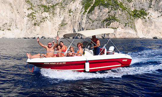 Rent 18' Center Console In Zakinthos, Greece